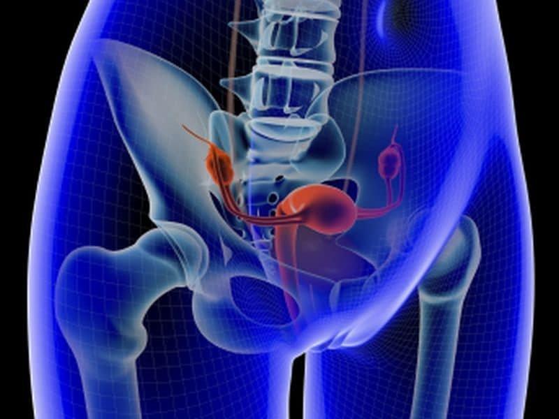 Seit 1999, Gebärmutter-Krebs-Inzidenz, Mortalität bis